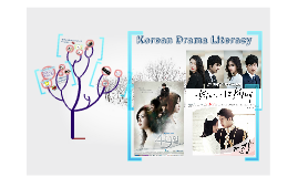 Korean Drama Literacy
