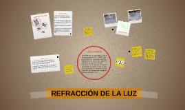 REFRACCIÓN DE LA LUZ - LEIVER CHOCONTA