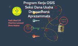 Program Kerja OSIS Dana Usaha