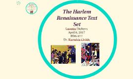 Copy of The Harlam Renaissance Text Set