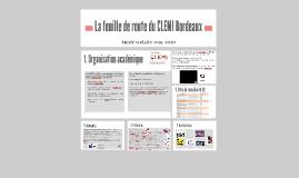 La feuille de route du CLEMI Bordeaux/2015- 2016