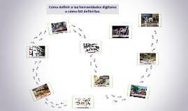 Copy of Humanidades digitales. Introducción