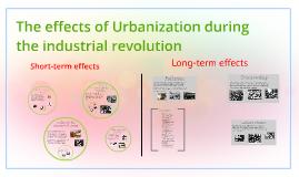 effects of urbanization essay