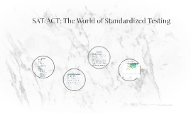 SAT/ACT: The World of Standardized Testing