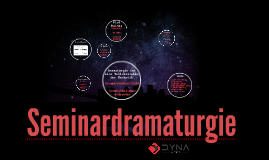 Seminardramaturgie