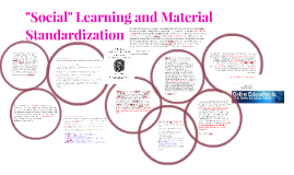 "Copy of Copy of ""Social Learning and Material Standardization"