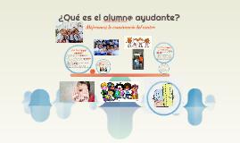 Copy of ¿Qué es el alumn@ ayudante?