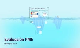 Evaluación PME