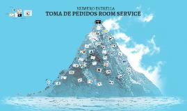 TOMA DE PEDIDOS ROOM SERVICE
