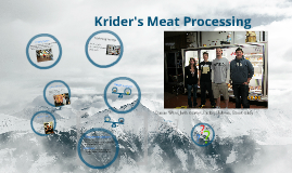 Krider's Meat Processing