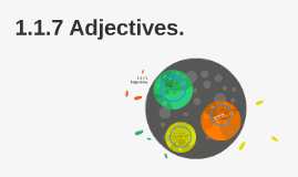1.1.7 Adjectives.
