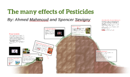 Pesticides - Outdoor Education Presentation