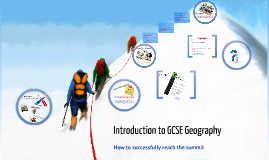 Copy of Introduction to GCSE Geography