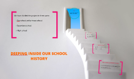 DIPPING INSIDE OUR SCHOOL HISTORY