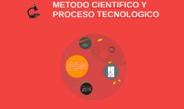 METODO CIENTIFICO Y PROCESO TECNOLOGICO