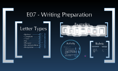 E07 - Writing Prep