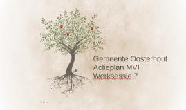 Gemeente Oosterhout werksessie 7