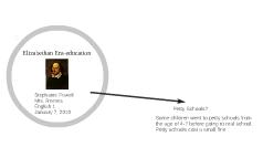 Elizabethan Era-education