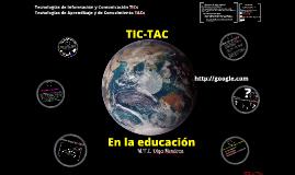 Uso de TICs y TACs en la Educación