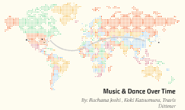 Music & Dance Over Time