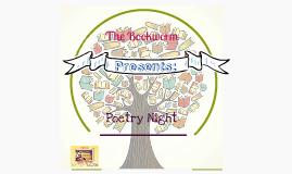 BOOKWORM: Poetry Night
