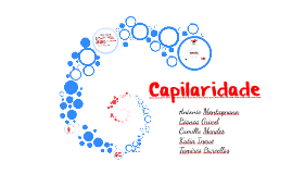 Copy of Capilaridade