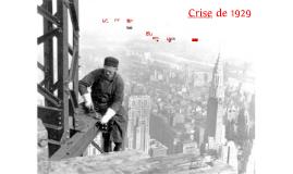 A grande Crise de 1929