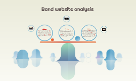 Band Website Analysis