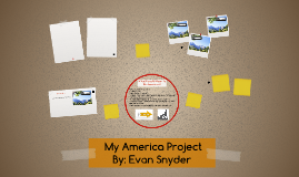Evan Snyder's My America Project