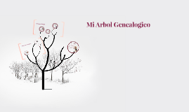 Copy of Mi Arbol Genealogico