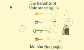 Copy of The Benefits of Volunteerig