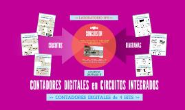>> CONTADORES DIGITALES en CIRCUITOS INTEGRADOS - LABORATORIO N°8 >>