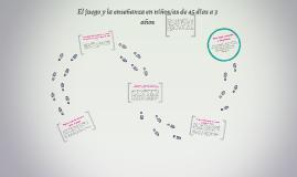 Copy of El juego y la enseñanza en niños/as de 45 días a 3 años