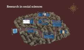 Research in social sciences