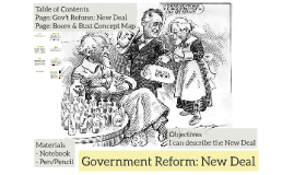 Government Reform: New Deal