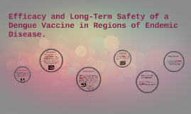 Efficacy and Long-Term Safety of a Dengue Vaccine in Regions