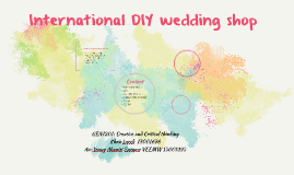 International DIY wedding shop