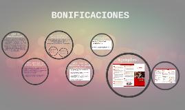 BONIFICACIONES