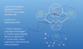 Biochemistry Conference 1, 2014-Bartling TR et al, 2009.