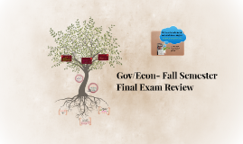 Gov/Econ- Fall Semester