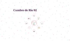 Cumbre de Rio 92