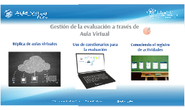 IMA Gestión de la evaluación a través de Aula Virtual  (Docente)
