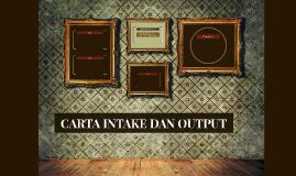 CARTA INTAKE DAN OUTPUT