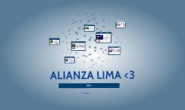 Copy of EL  MEJOR EQUIPO ALIANZA LIMA <3