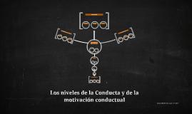 Los niveles de la Conducta y de la motivación conductual.