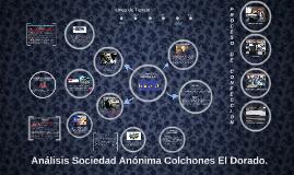Análisis Sociedad Anónima Colchones El Dorado.