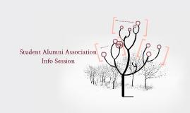 Student Alumni Association Info Session