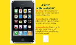 "A ""CELL"" is like a Cell Phone..."