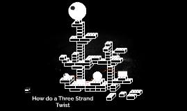 How do a Three Strand Twist