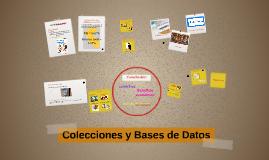 Bases de datos y colecciones